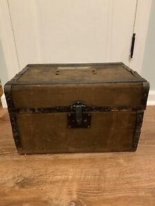 Antique Classic Car Canvas Wrapped Auxillary Trunk For Ford Model A T Military