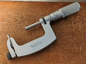 Starrett 1 2 Inch Anvil pin Micrometer No 220fl