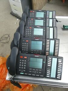 R86 Nortel Phones M3904 W Boxed Kba W Hand Sets W Cords Lot Of 6 Free Shipping