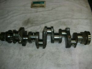 Corvair 60 63 Crankshaft Passed Wet Mag Oil Holes Champhered Ground 010 Mains