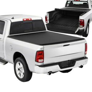 For 2009 2018 Dodge Ram 1500 2500 3500 6 5 Ft Bed Soft Tonneau Cover