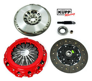 Kupp Stage 2 Clutch Kit chromoly Flywheel Fits Infiniti G35 Nissan 350z Vq35de