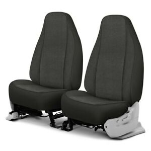 For Ford E 350 Econoline 92 00 Cool Mesh 1st Row Charcoal Custom Seat Covers