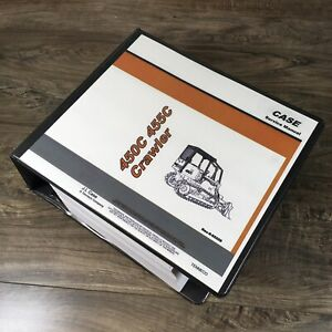 Case 450c 455c Crawler Loader Dozer Service Manual Repair Shop Bulldozer