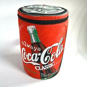 1998 COCA-COLA vintage cooler bag with strap ALWAYS COCA-COLA CLASSIC 12