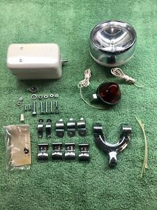 New Vintage Armacost Bicycle 6 Volt Light Kit