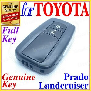 Toyota Smart Key Proximity Key Landcruiser Prado 2 Button Genuine Oem
