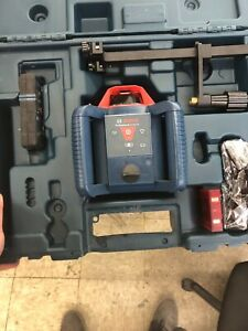 Bosch 800ft Self Leveling Rotary Laser Level Kit grl800 20 Hvk rt