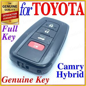 Toyota Smart Key Proximity Key Camry Hybrid 4 Button Genuine Oem