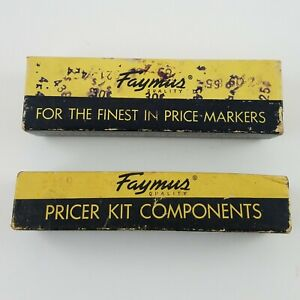 Vintage Grocery Store Stamp Price Marker Durability King Components Faymus Usa