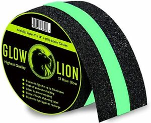 Non slip Glow In The Dark Tape Anti Slip Adhesive Grip For Stairs And Gaffers