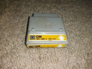 Monitor 2000 Software Gm Cartridge For 81 88 Preowned Good Condition Otc 1987