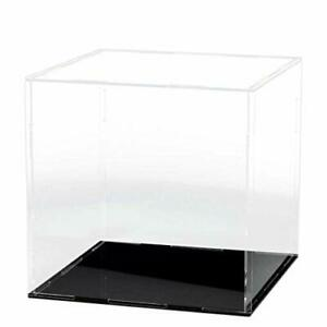 Clear Acrylic Display Case And Box Cube Organizer Stand For Action Figures Toys