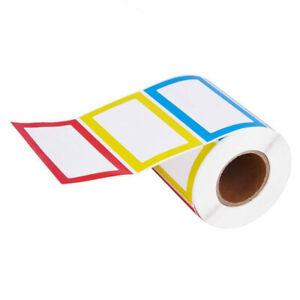 Self Adhesive Sticker Price Stickers Tags Blank Sticker Name Stickers For School