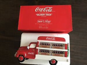 Dept 56 Snow Village Coca-Cola Delivery Truck
