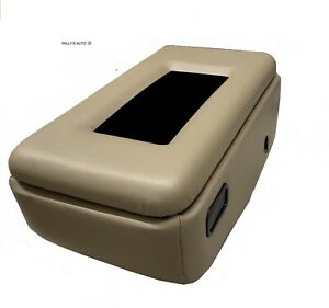 Ford Ranger Tan Center Console Lid Armrest New Padded With Phone Trayvinyl
