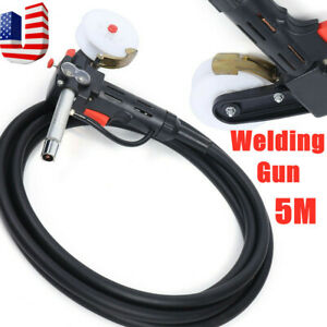 16ft Wire Cable Mig Welder Spool Gun Push Pull Feeder Aluminum Welding Torch