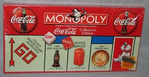 Coca-Cola Monopoly Game c1999 Collector's Edition New Sealed Free Shipping