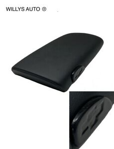 New 1997 2002 Chevy Camaro Center Console Lid Armrest Black With Bow Tie Button