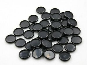Circa Disc Levenger Set Of 40 Black Plastic 3 4 Disc New Without Box