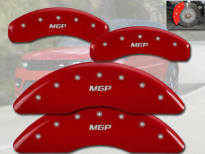 2010 2013 Land Range Rover Hse 5 0l Front Rear Red Mgp Brake Disc Caliper Covers