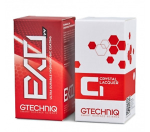 Gtechniq Exo C1 Crystal Lacquer Clear Finish Improved Durability 30ml Or 50ml