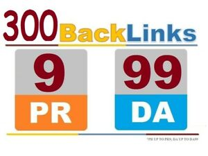300 Backlinks From High Authority Unique Domain Pr 9 Da90 High Quality Back Link
