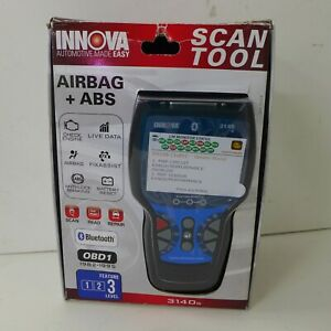 Innova 3140g Obd1 2 Scan Tool Reader Bluetooth Obd1 Airbag Abs Srs New