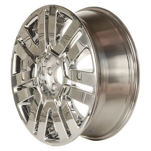 03701 New Compatible 20 Inch Aluminum Wheel Fits Ford Edge 08 10 Cladded Chrome