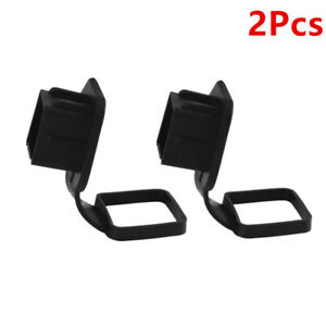 2pcs 2 Trailer Hitch Cover Receiver Track Tow Plug Insert Hauling Cap For Car