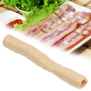 14m 26mm Natural Collagen Sausage Casing Skins Ham Hot Dog Smoked Fresh Shell