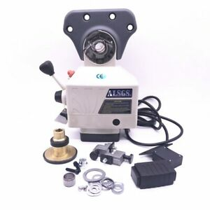 Al 510s Power Feed 650in lb 200rpm Table Feed Larger Torque Milling Machine