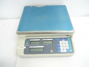 Digi Dc 130 Digital Counting Scale Capacity 60 Lb 15v 3w