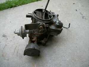 1971 1973 Oldsmobile Delta 350 455 Rochester 2gv Barrel Carburetor 7043152