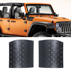 Side Hood Body Armor Cowl Cover Trim For Jeep Wrangler Jk 2007 2017 Accessories