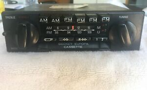 Vintage Becker Europa Am Fm Radio Reconditioned By Becker Of Na