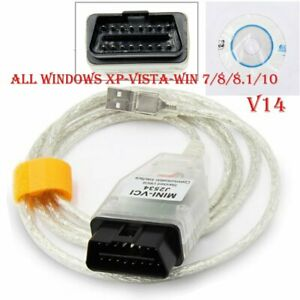 Mini Vci Toyota Lexus Techstream Obd2 Diagnostic Interface Scanner V14 20 019