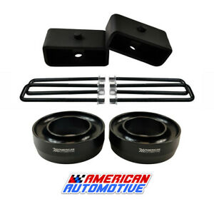 88 07 Ford Ranger Lift Kit 2wd 3 Front Spring Spacers 2 Rear Blocks