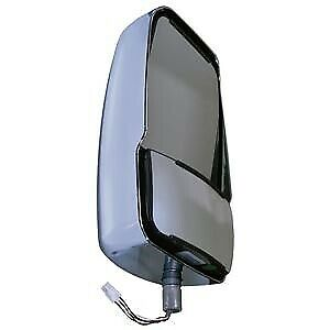 Velvac Rv 714607 Chrome Deluxe Driver Side Mirror Head Xtra Long Cable 6m