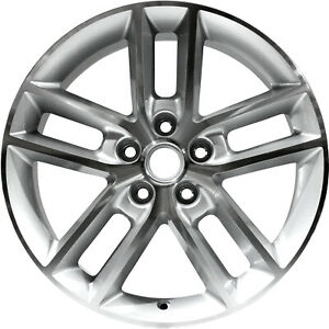 05333 Compatible Chevrolet Impala 2008 2013 18 Inch Wheel Machined And Silver