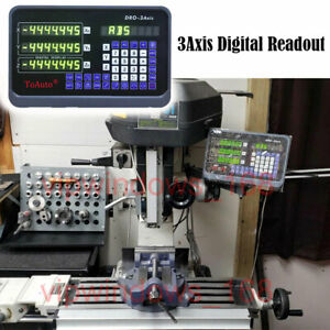 3axis Digital Readout Dro Display Read Out For Milling Lathe Machine Grind us