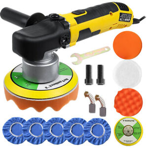6 Dual Action Random Orbital Car Polisher Buffer Sander Da Polishing Machine Us