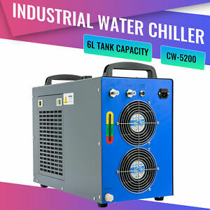 Industrial Water Chiller For Lab 60w 70w 80w 90w 100w Co2 Laser Engraver Tubes