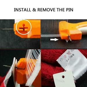 Clothing Price Label Tagging Tag Gun With 5000pcs Barbs 5pcs Needles Orange