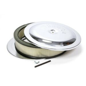 Moroso 65945 Flat Bottom Racing Air Cleaner Holley 4500 Carbs With 7 5 16 New