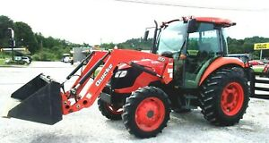 Kubota M6040 With Loader Hyd Shuttle 4x4 free 1000 Mile Delivery From Ky