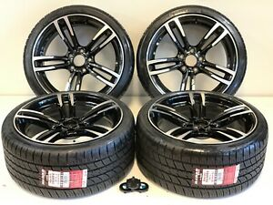 19 Wheels Rims Tires Bmw Fit M4 M3 437m M3 M5 Sport 19 Staggered 8609486095