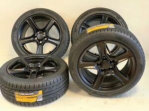 4 18 Inch Chevy Camaro Rims Tires 2454518 Oem Original Wheels 5758 Black New