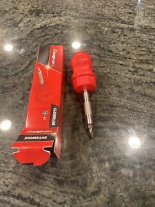 New Snap On Ratcheting Stubby Red Hard Handle Screwdriver With Bit Ssdmr1ar
