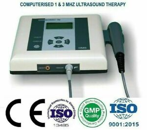 Ultrasonic Ultrasound Therapy 1 3 Mhz Contact Control Sensor Therapeutic Machine
